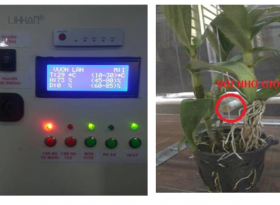 Đồ án thiết kế và thi công hệ thống chăm sóc vườn lan sử dụng năng lượng mặt trời